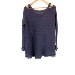 Free People Sweaters - Free People • Open Shoulder Sweater